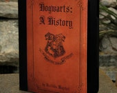 "2012 Edition Kindle Fire HD 7"" Book Cover Case -  Harry Potter Hogwarts A History Book"