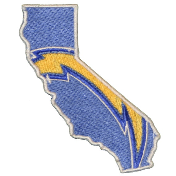 The San Diego Chargers Iron On Patch 4 Tall By