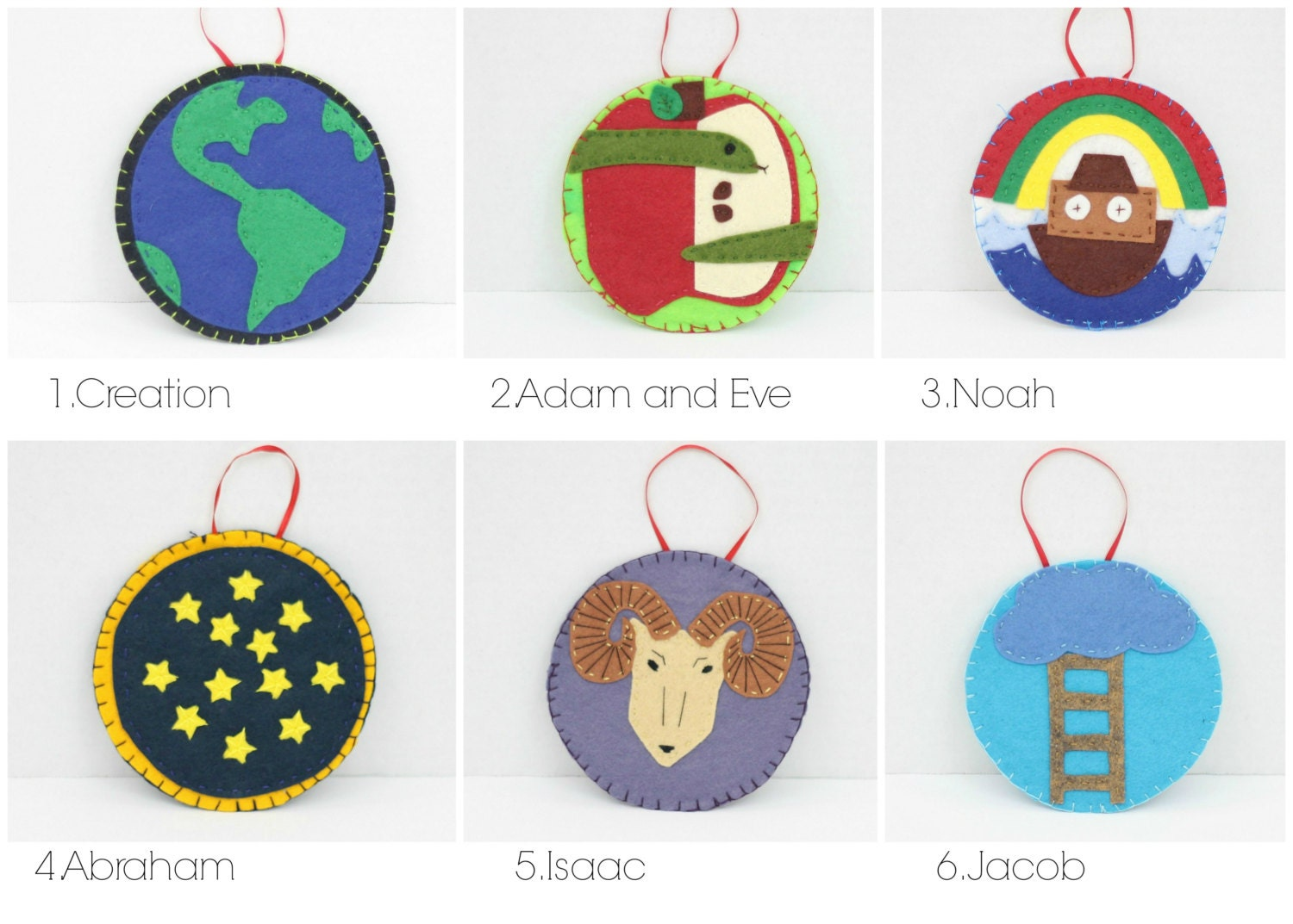 31 Jesse Tree Ornament Patterns
