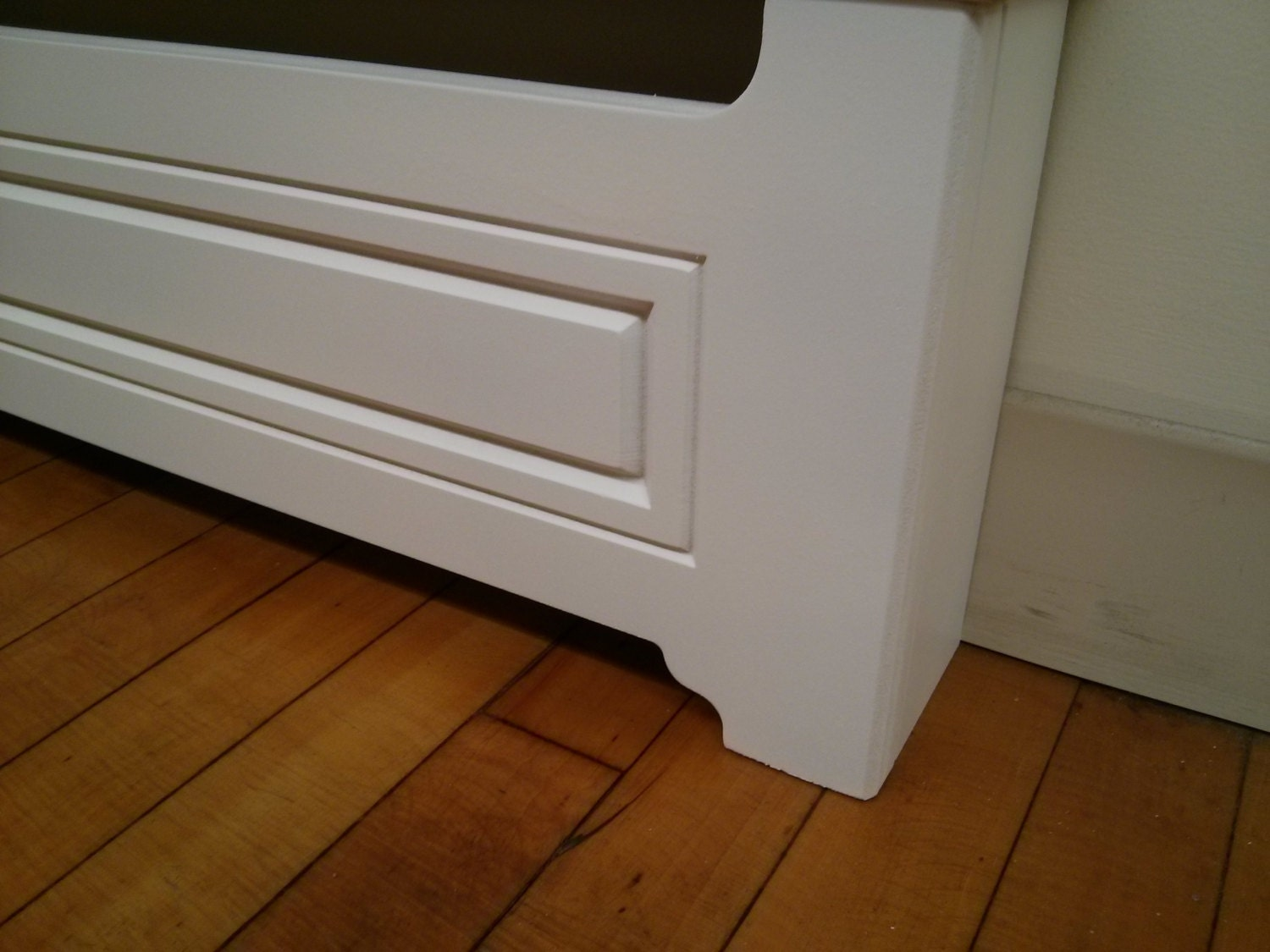 Custom Made To Order Baseboard Heater Covers Double V Raised
