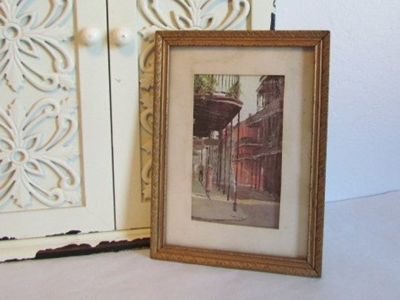 Vintage New Orleans Decor French Quarter Gallery Wall Art
