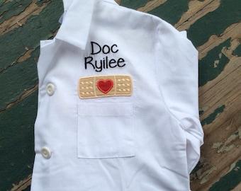 Personalized Child's Lab Coat