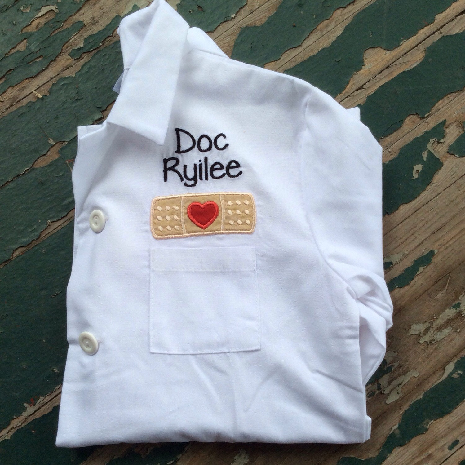 Personalized Child's Lab Coat by ThatsSewPersonal on Etsy
