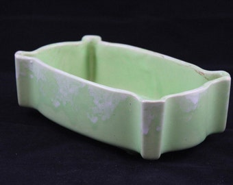Light Green Mid century Ceramic Planter Ungemach UpCo  Number 295