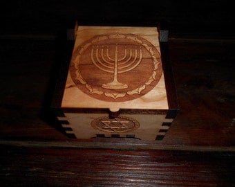 A Cherry box celebrating Chanukah, the festival of lights