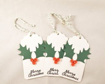 Button Gift Tag