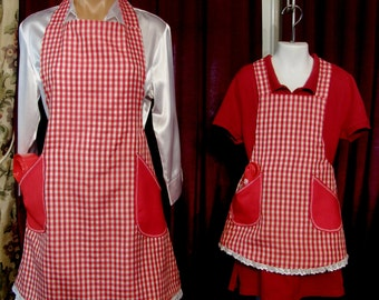 Family Heirloom Mommy & Me matching apron sets!
