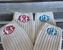 Monogrammed Boot Sock, Boot Socks, Initials Socks, Monogram Boot, Monogram Socks, Personalized, Monogram Gifts, Initial Boots
