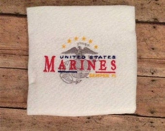 GG1101 Marines  Wife  embroidery design