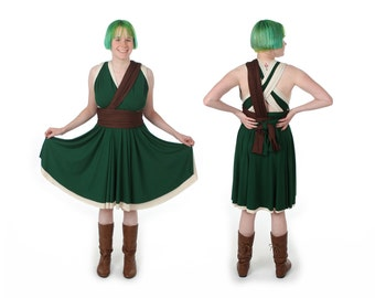 Elven Hero Video Game Convertible Dress