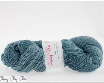 Storm Cloud - Luxury Fingering Weight - Merino, Cashmere & Nylon - 100 g - 425 yds