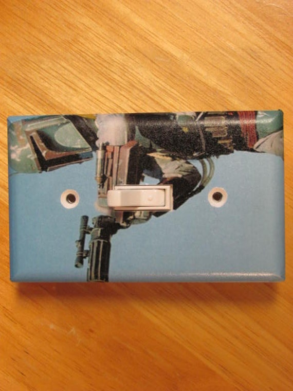 Boba Fett Star Wars Light Switch Plate Cover By Photosbyben