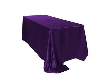 Purple Tablecloth Etsy