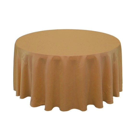 120 inch round lamour tablecloth gold wedding tablecloths