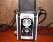 Kodak Duaflex Vintage Film Camera 1940s Era Collectible