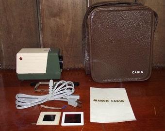Manon Cabin 35mm Slide Projector