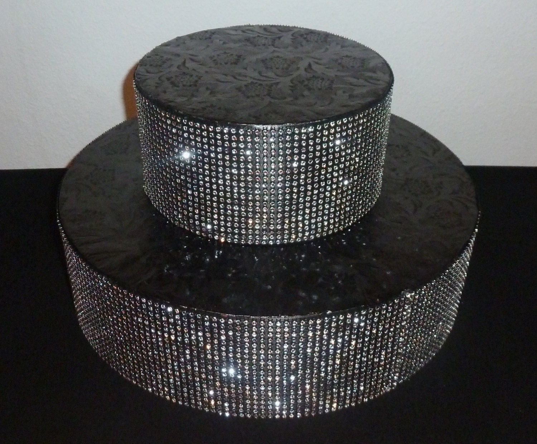 black silver wedding cake ball stand 10 12