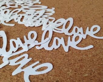 100-count LOVE confetti