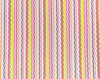Blend Fabric Maude Asbury - Zanie Zig Zag Pink
