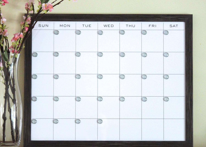 Dry Erase Calendar Magnetic : Chandeliers pendant lights