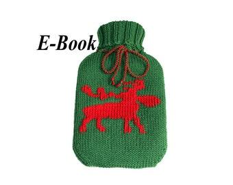 Strickanleitung E-Book Wärmflaschenbezug Anleitung