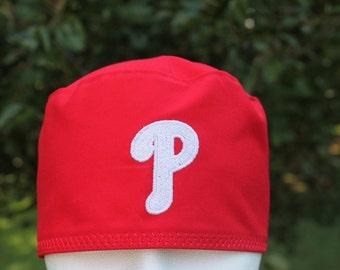 Mens scrub hat/ Phillies