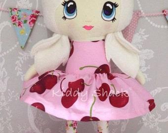 Handmade CE marked fabric cloth dress up doll