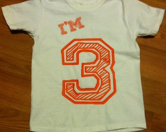 I'm 3 Birthday T Shirt
