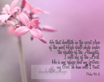 He That Dwelleth   // Psalm 91:1-2
