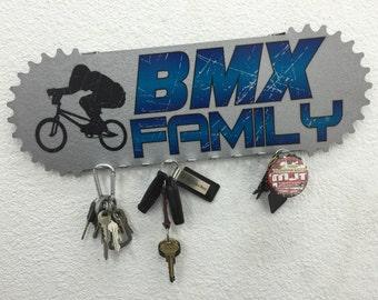 BMX Family Key Holder - Key Ring Holder - Keys Hanger