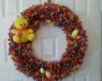 Easter Wreath with peep