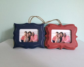 Wallet sized-Wood Ornament Frames