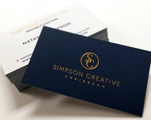 Duplex Business Cards -100 - 2 Foil Colours + Ink Printing