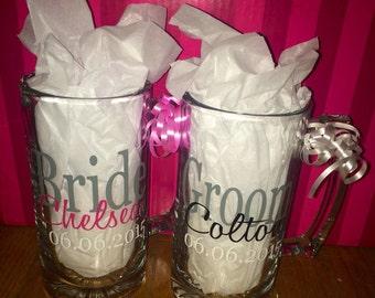 Bride and Groom Mugs