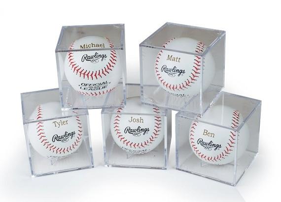 Baseball Wedding Gifts: Wedding Gift Groomsmen Gift Rawlings Baseball With Acrylic