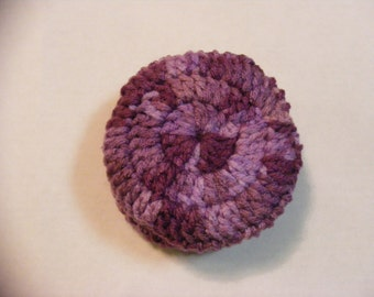 Crocheted Ear Muffs, Ear Muffs, Ear Warmers, Purple Ear Muffs