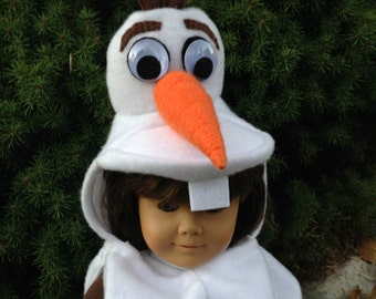 PDF Instant Download Pattern & Instructions to make this Snowman looking Olaf Costume.  10 pages full color.