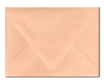 A6 Envelopes Australia Peach Orange Pastel Apricot Sorbet Sherbet Matte 4.75x6.5 Inch/165mmx120mm Pack of 10 Australia