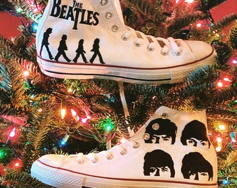 Custom Converses Inspired by The Beatles