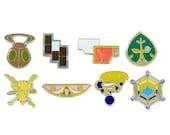 Pokemon Badges Gen 6 - Kalos League
