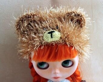 Bear-hat for Blythe