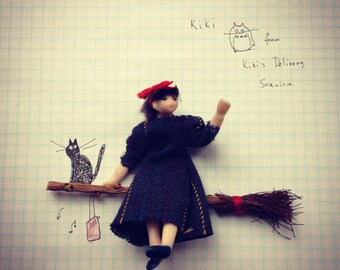 Kiki from Kikis delivery service by Miyazaki the Witch