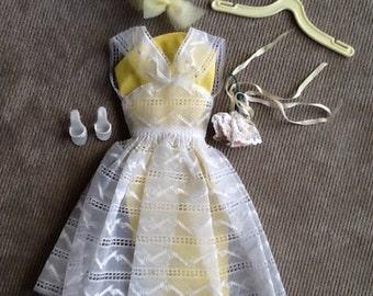 Vintage Original Mattel Barbie Doll (Orange Blossom) Outfit #987 From 1961-1964