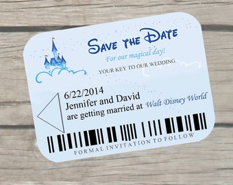 Disney Cruise Save the Date