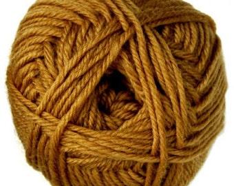 Mustard Knitca Superwash Merino Wool, Worsted Weight Wool, 100% Merino Wool