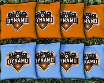 Houston Dynamo Cornhole Bags - MLS Licensed