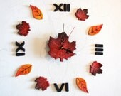 Farmhouse wall clock with...