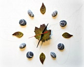 Wall clock. Nature decor ...