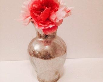 Mercury vase. Home decor. Mercury Home Decor. Wedding Centerpiece. Mercury wedding decor. Christmas gift ideas.