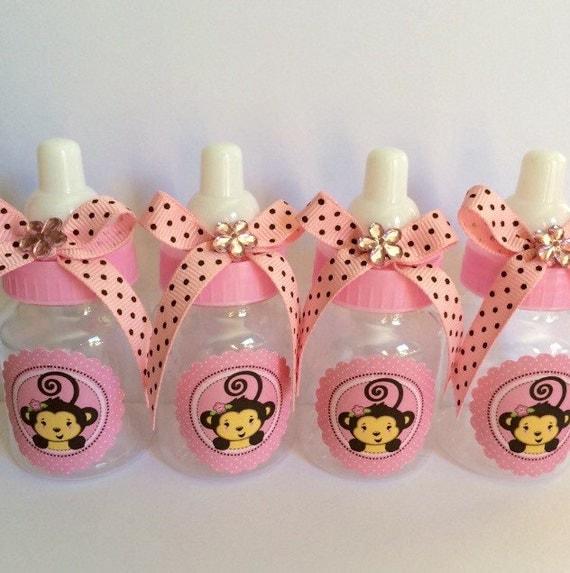 monkey girl baby shower favors girl baby shower baby monkey girl